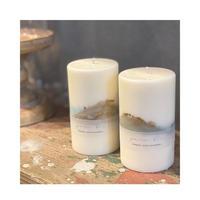 【2月 limited color】 soy candle(カーキ・オーシャン)