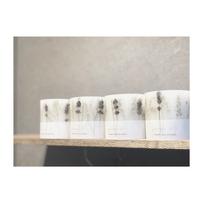 (ラベンダー)aroma&naturalwax candle