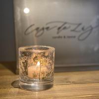 candle holder(アロマキャンドル2個付)