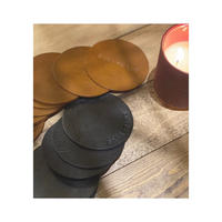 【ご希望英字刻印】original leather mat