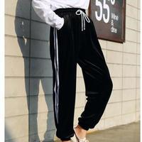 sideline  velours pants