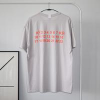 MAN-SION / 19 T-shirts Ice Gray