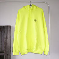 PARADISE GARAGESALE / Palm Hoodie Neon Yellow