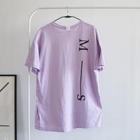 MAN-SION / M-S Tshirts Pastel Purple