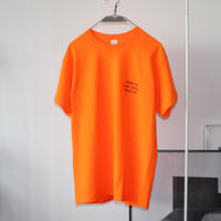 salt & peppers / THINK PIG T-shirts Neon Orange