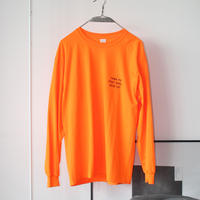 salt & peppers / THINK PIG L/S shirts Neon Orange