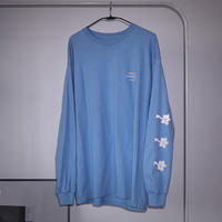 PARADISE GARAGESALE / Reflector L/S shirts  Carolina Blue