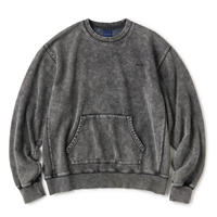 INTERBREED / Acid Washed Crewneck (2colors)