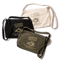 RULER / CANVAS SHOULDER BAG (3colors)