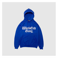 WEEKEND GANG / WEEKEND GANG PULLOVER HOODIE