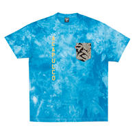 ACAPULCO GOLD / AG ARMY POCKET TEE  TIE-DYE (2color)