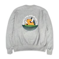 DUMMY YUMMY / Chillax Mountain Club 12oz Reverseweave Creneck Sweatshirt