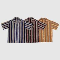 Striped open shirt
