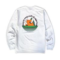 DUMMY YUMMY / Chillax Mountain Club 7oz Heritage LS T-shirt