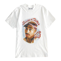 RAPTEES / 2PAC ME AGAINST THE WORLD PHOTO S/S TEE