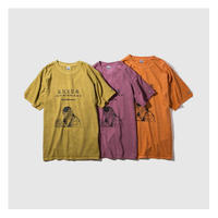 RULER/ U&B PIGMENT-DYE T-SHIRT (3.COLORS)