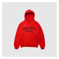 WEEKEND GANG/ WEEKEND GANG PULLOVER HOODIE