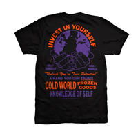 COLD WORLD FROZEN GOODS / Investment T-Shirt (3colors)
