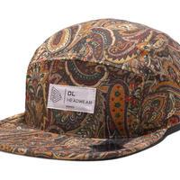 "Omega 5Panel Camp cap ""paisley brown"""