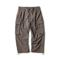 Plaid Comfy Cargo Pants