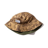 RULER / WAY OF LIFE REVERSIBLE BUCKET HAT (2colors)