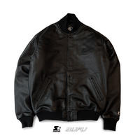 BUFU×STARTER / BUFU FULL LEATHER STADIUM JKT