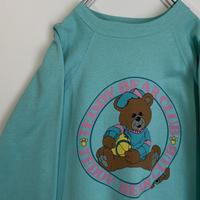 テディベア スウェット teddy bear 80s 90s ヴィンテージ