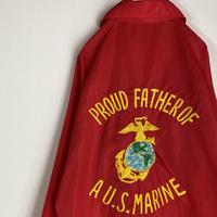 アメリカ 海兵隊 コーチジャケット ナイロンジャケット ビンテージ US