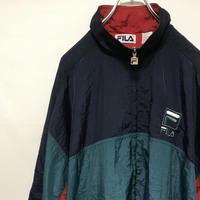 フィラ FILA ナイロンジャケット 90s ウインドブレーカー ビンテージ