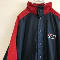 フィラ FILA 90s ウインドブレーカー リバーシブル ナイロンジャケット