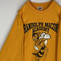 ランドルフ メイコン アカデミー カレッジシャツ 蜂 90s トレーナー