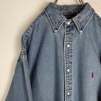 Ralph Lauren ビンテージ BDシャツ ラルフローレン デニムシャツ