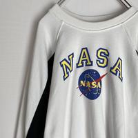 NASA ナサ トレーナー スウェット 90s  ロゴ 宇宙 スペース なさ