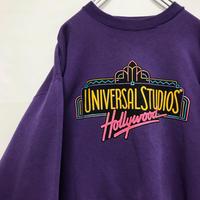ユニバーサルスタジオ ハリウッド ネオン スウェット トレーナー ビンテージ
