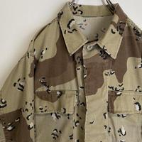 ミリタリー シャツジャケット デザートカモ 砂漠 軍物 デザート カモフラ