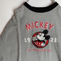 ミッキーマウス フリース mickey ディズニー Disney 刺繍