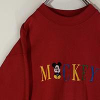 ミッキーマウス スウェット クラシックミッキー ビンテージ MICKEY&CO.