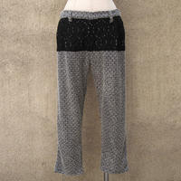 1310-04-105 Lace×Souffle Tweed Pants