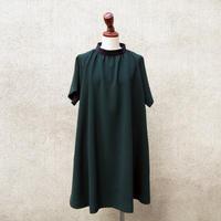 【SALE】1404-05-105 Bi-Color High Neck Dress