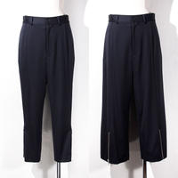 【SALE】1410-04-101 Side Zip Tapered/Wide Pants