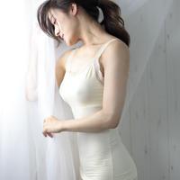 ◆日本製◆ リラクシングモダールブラキャミソール/03503 Lサイズ