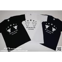 シャカハンドTシャツ【ブラック・ホワイト・ネイビー】