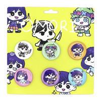 【OMORI】OMORI CHIBI Button Pin Set【OMOCAT】