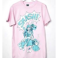 【OMORI】AUBREY SMASH!  T-Shirt【OMOCAT】