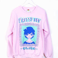 【OMOCAT】PRETTYBOY Sweater PINK