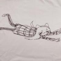 【ゆーきん】もーだめだー Tシャツ