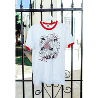 【OMOCAT×MARUTI-BITAMIN】TANGLE Ringer Shirt
