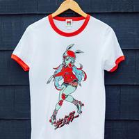 【OMOCAT】SAFETY FIRST Ringer Shirt
