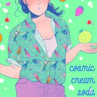 【宇宙サマー】COSMIC CREAM SODA HAWAIIAN SHIRT