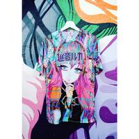 【OMOCAT×巡音ルカ】LUKA Jersey Shirt